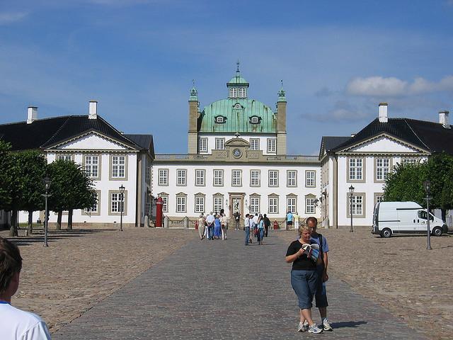 Billede af Fredensborg Slot - seværdighed i Nordsjælland